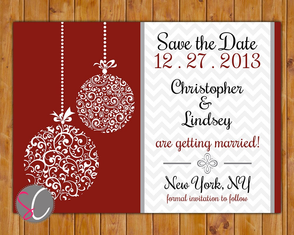 christmas party save the date cards - Kubre.euforic.co