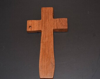 Unique Wood Cross; Cross Wall Decor; Wooden Cross; Crooked Cross; Mesquite; Wall Cross; Handcrafted; Free Ground Shipping USA; cc20-1063017