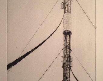 Communications mast 1