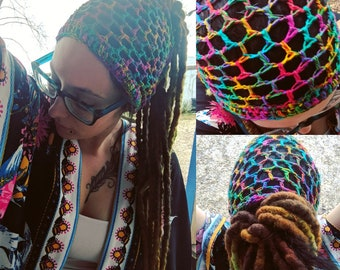 Boho dread wrap headband *PATTERN*