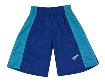 Boys Swim Trunks Royal and Turquoise Swim Shorts Swimsuits for Boys Youth Swimsuit Beach Shorts Pool Swim Suit