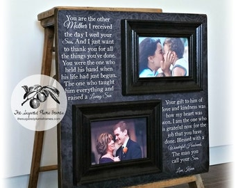 Mother of the Groom Gift From Bride, In-Laws Wedding Gift, Mother of the Bride Gift, Parent Thank You Gift, Parents Wedding Gift, 16x16