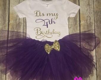 It's My Birthday T-Shirt and Tutu Set Toddler Tutu Set