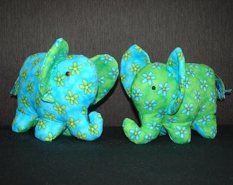 Two cute elephants
