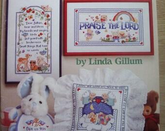 "Book ""Children's Prayers"" from American School of needlework (cross stitch)"