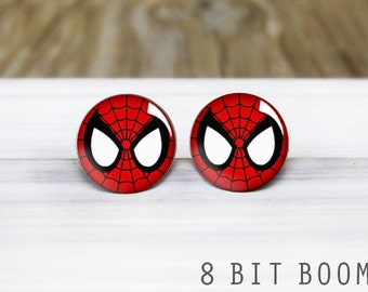 Spider Stud Earrings - Hypoallergenic Earrings for Sensitive Ears