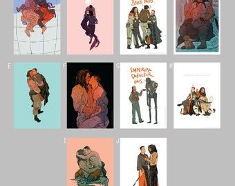Spiritassassin A5 prints