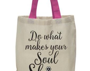 Soul Shine | Tell Me Tote Bag by Kai Kai Brai