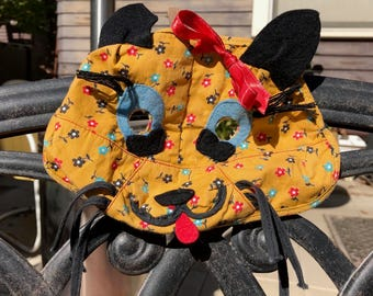 Vintage 1940s Complete Child's Cat Costume from Party Costumes Lafayette CA