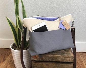 Cross body Bag - Purple