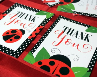 Ladybug Thank You Notes, Ladybug Printables, Little Lady Printables, Ladybug Birthday, Our Little Ladybug, Ladybug Stationary