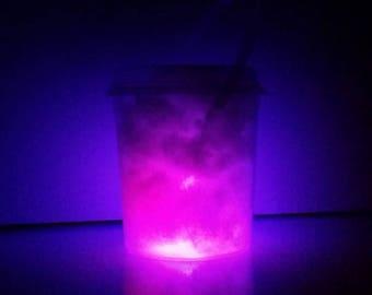 12 Glow in the Dark LED Buckets Empty Glow Bucket Only