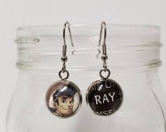 Ray Stantz Earrings (Ghostbusters)