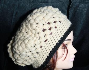 very nice stitch crochet beret