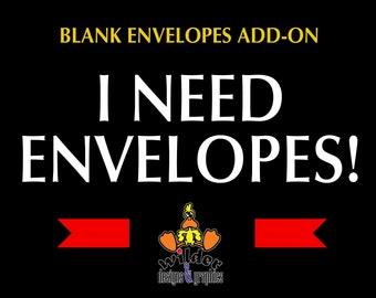 Blank Envelopes ADD-ON