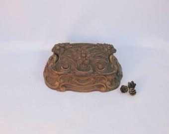 Wooden Box, Syrocowood Decorative Box, Faux Wood Box