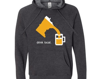 Drink Local Minnesota Hoodie