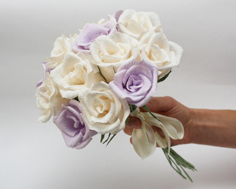 wedding bouquet paper flower bouquet bridesmaids flowers. Black Bedroom Furniture Sets. Home Design Ideas
