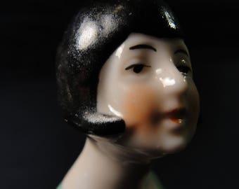 Antique Germany Porcelain Half Doll