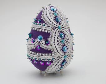Easter decoration, lace, ornaments eggs.