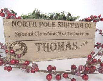 Christmas Eve Box  - Personalised, engraved