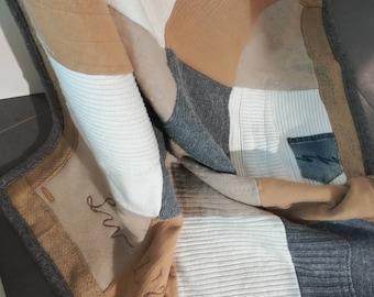 Handmade Blanket - Wool & Cashmere