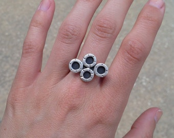 Silver Chandy Ring - Size 6.5