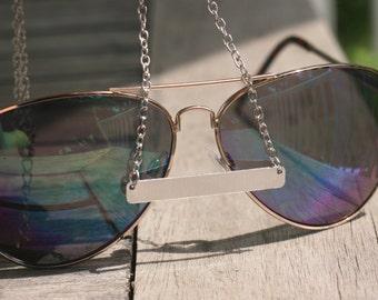 Silver Bar Necklace,  Plain bar necklace, Trendy Bar Necklace, 18 in Bar Necklace, Trendy jewelry