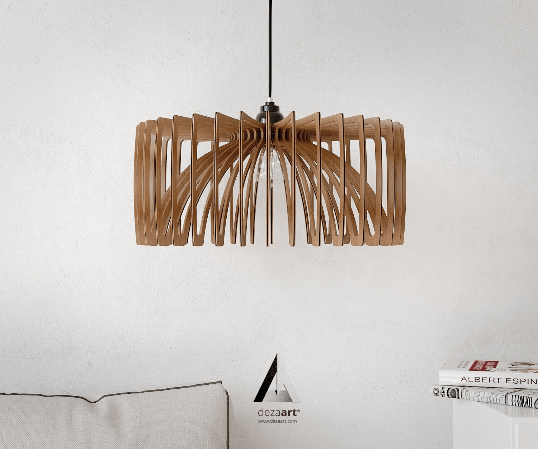 Chandelier pendant light lamp wood lamps wood pendant zoom arubaitofo Gallery
