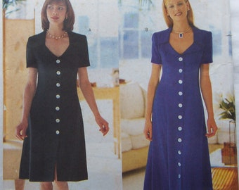 1/2 price or more off everything in store! See Shop Announcement! Dress - Misses Petite - Butterick 6060 Pattern - UNCUT