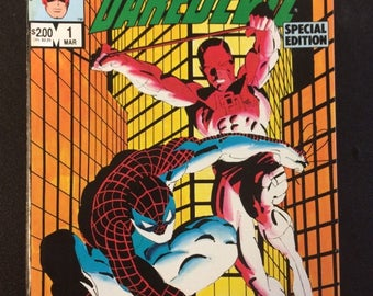 Spider-Man And Daredevil # 1 Comic by Marvel Comics
