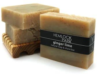 Soap & Shave Bar | Ginger Lime