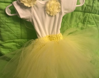 Onsie with a Tulle Tutu headband