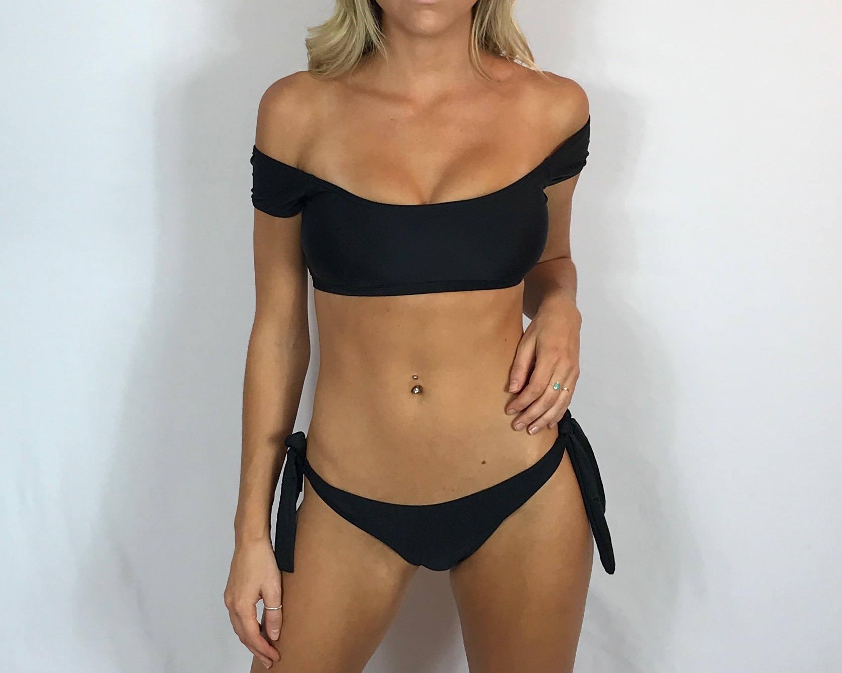 8e8e5046baea5f Small Off The Shoulder Bikini Swimsuit
