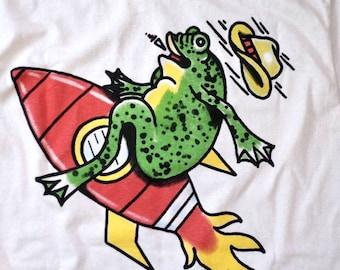 Greg Rosenfeld Rocket Frosch T-Shirt