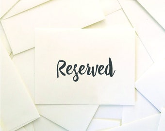 Reserved for Dulce - Invite Upgrades