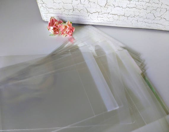 100 4x6 Clear Cellophane Bags Resealable