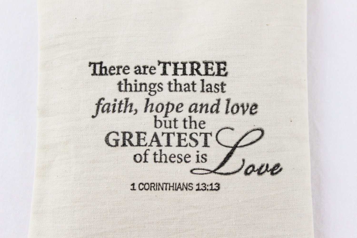 Christian Marriage Quotes Faith Hope Love Lavender Sachet 1 Corinthians 13 Bible Verse