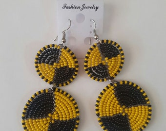 maasai earrings / beaded earrings / colorful earrings