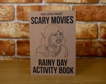 Scary Movies Rainy Day Activity & Colouring Book