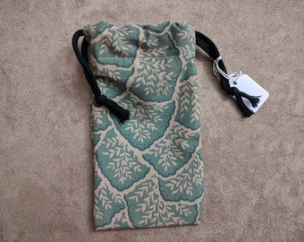 Tarot Bag, Drawstring Bag, Dice Bag, Bag of Holding