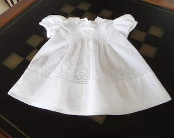 Vintage Baby/Doll Dress  Pintucks