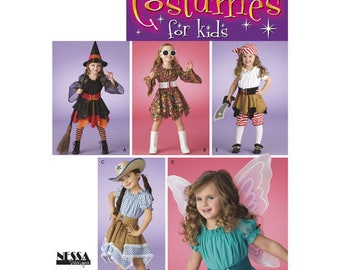 OUT of PRINT Simplicity Pattern 3680 Child's Costumes