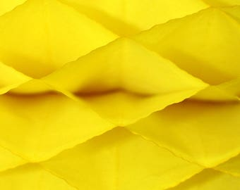 6-pack Yellow Honeycomb Paper Popup Craft Pad (7 inches X 9 inches each)