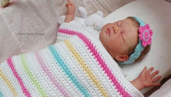 Beginners Baby Blanket Pattern Easy Crochet Blanket Pattern