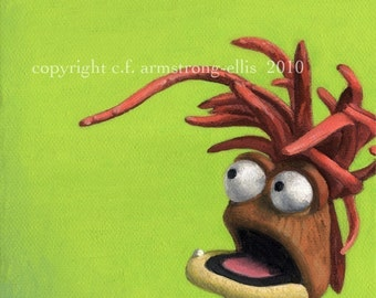 Pepe the King Prawn print