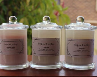 Hand Made Scented Soy Wax Candle