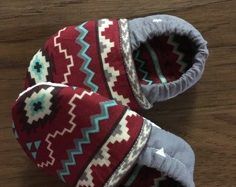 Size 6to9 month crib shoe , crib shoe , southwest crib shoe , shoe , baby shoe