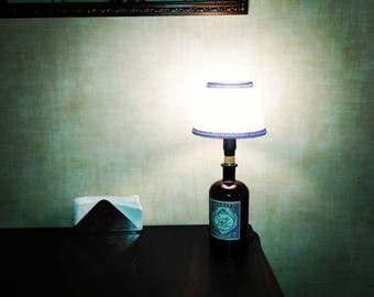 bottles lamp vintage handmade on order