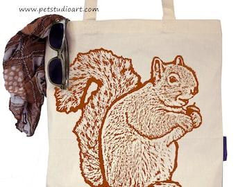 Squirrel - Eco-Friendly Tote Bag